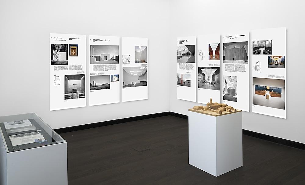 Ausstellungsansicht, Spiritualität und Sinnlichkeit, 2013