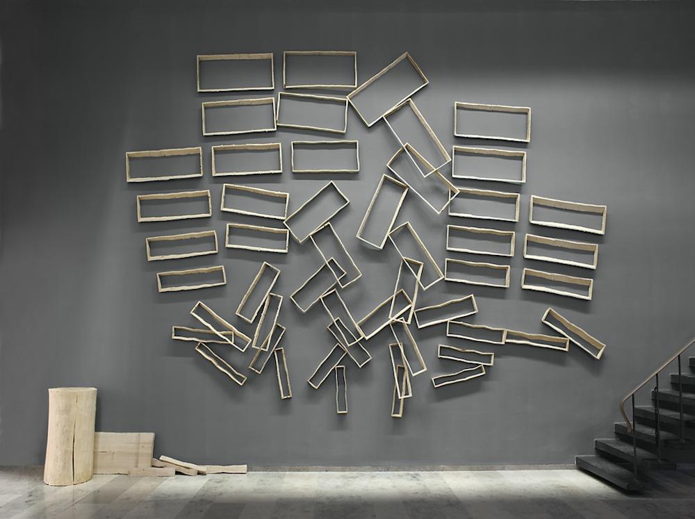 Ausstellungsansicht, Werner Mally, Lichte Weite, 2009