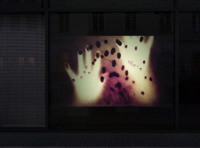 Birthe Blauth, Trapped, Außenansicht DG Kunstraum 2020, Foto: Gerald von Doris