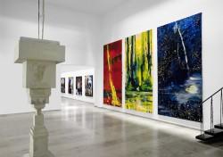 Ausstellungsansicht, Bernd Zimmer, Das menschliche Format, 2010