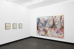 Ausstellungsansicht, Gruppenausstellung, Aeolsharfe, 2015