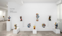 Ausstellungsansicht, Franz Hitzler, Abgrund und Transzendenz, 2011