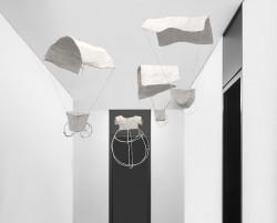 Ausstellungsansicht, Christina von Bitter, Himmelswesen, 2013