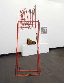 Ausstellungsansicht, Sabine Straub, Sequenzen, 2013