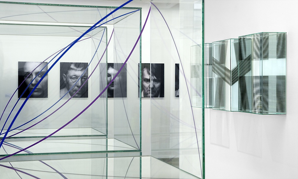 Ausstellungsansicht, Gruppenausstellung, 3+2=4, 2008