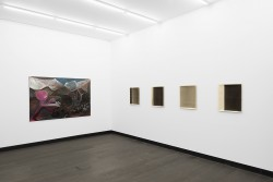 Ausstellungsansicht, Aeolsharfe, Marco Schuler, Jaromir Novotny, 2015