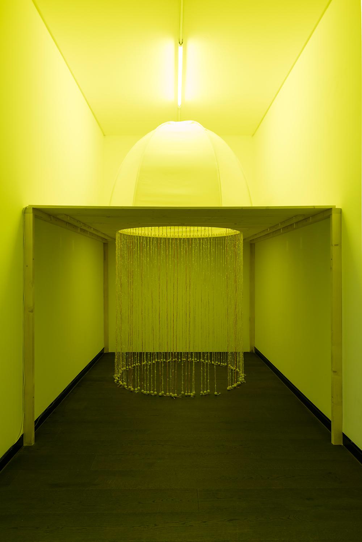 Susanne Hanus, Nicht ganz von dieser Welt, 2015, mixed media