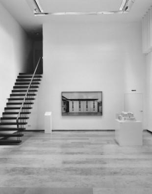 Ausstellungsansicht, Architektur von Karljosef Schattner, Bauherr Kirche, 2009