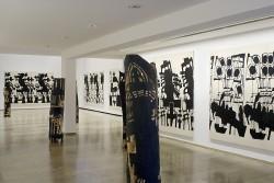Ausstellungsansicht, Klaus Hack, Totentanz, 2008