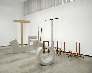 Ausstellungsansicht, Rudolf Bott, Objekte - Modelle - Geräte, 2011
