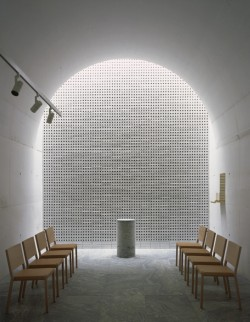 Johan Celsing, Abschiedsraum, The New Crematorium, 2013, The Woodland Cemetery (Schweden)