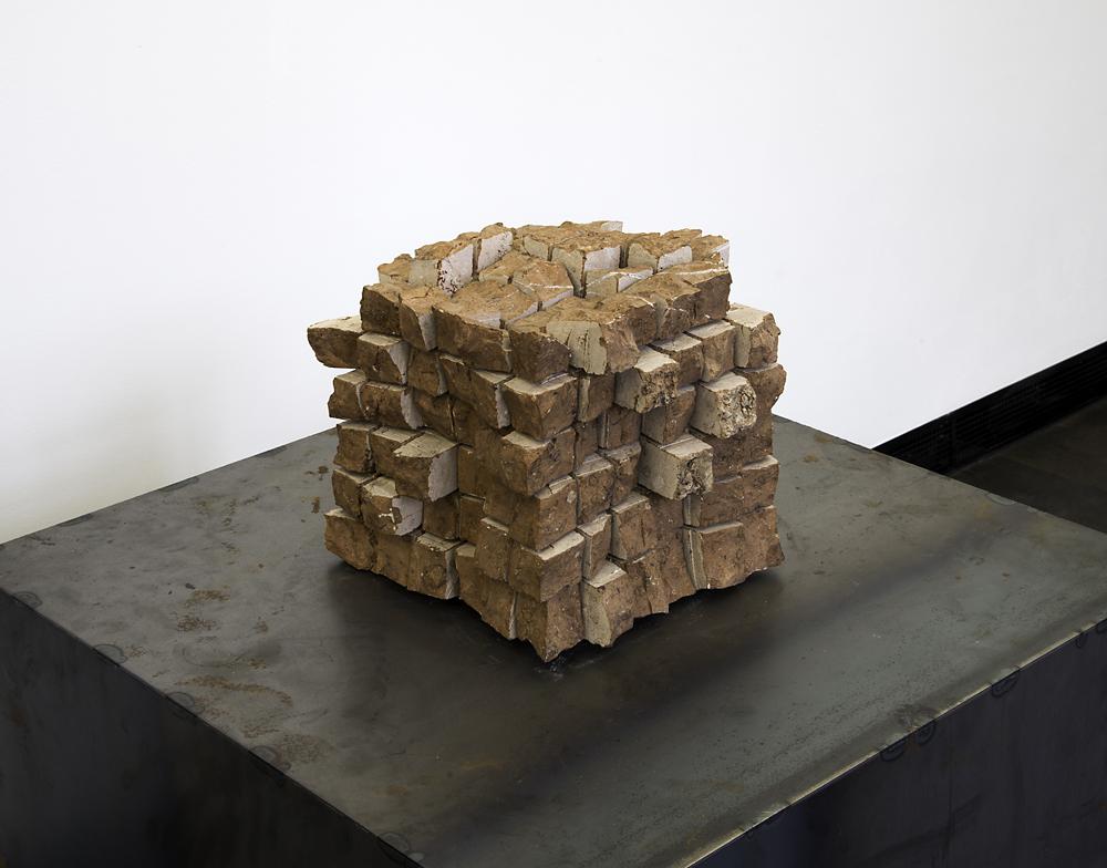 Gerhard Trieb, Kubus, 2008, schwarzer Granit, 19 x 19 x 19 cm