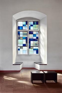 Ausstellungsansicht, Rudolf Schwarz, Rothenfels, 2011