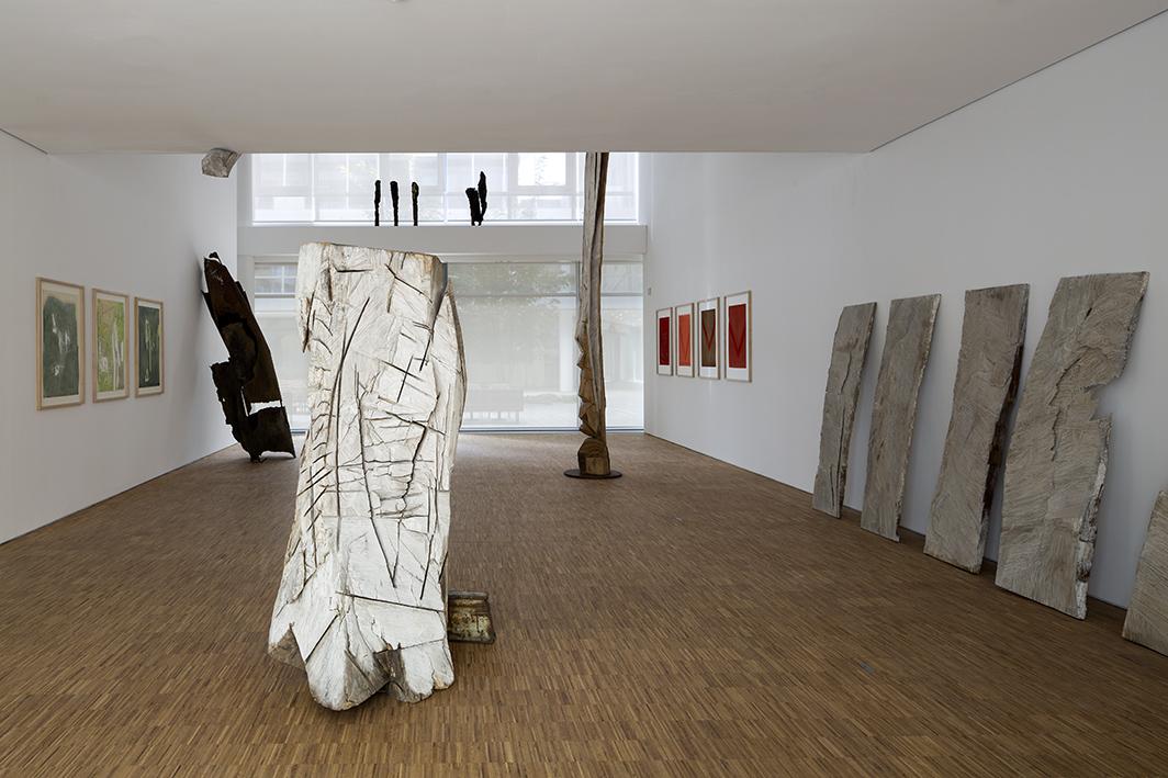 Ausstellungsansicht, Erwin Wortelkamp. Einsichten – Ansichten, Foto: Werner Hannappel, Courtesy: VG Bild-Kunst, Bonn 2016, Erwin Wortelkamp
