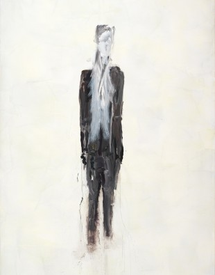 Markus Bacher, Albert, 2014–2015,  Acryl und Öl auf Leinwand,  300 x 200 x 3,8 cm