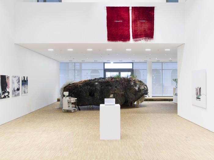 Ausstellungsansicht, In Ewigkeit, Galerie der DG, 2016