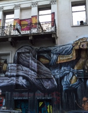 Nr 75 Street Art Athen