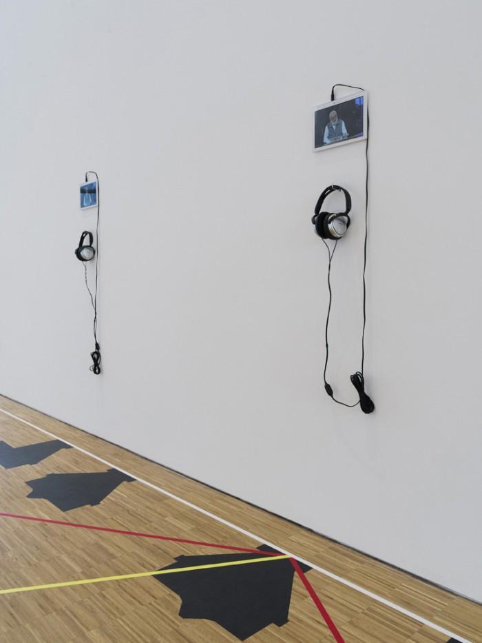 Ausstellungsansicht 'Zenita Komad - art is a doctor', Galerie der DG, 2017, Foto: Gerald von Foris