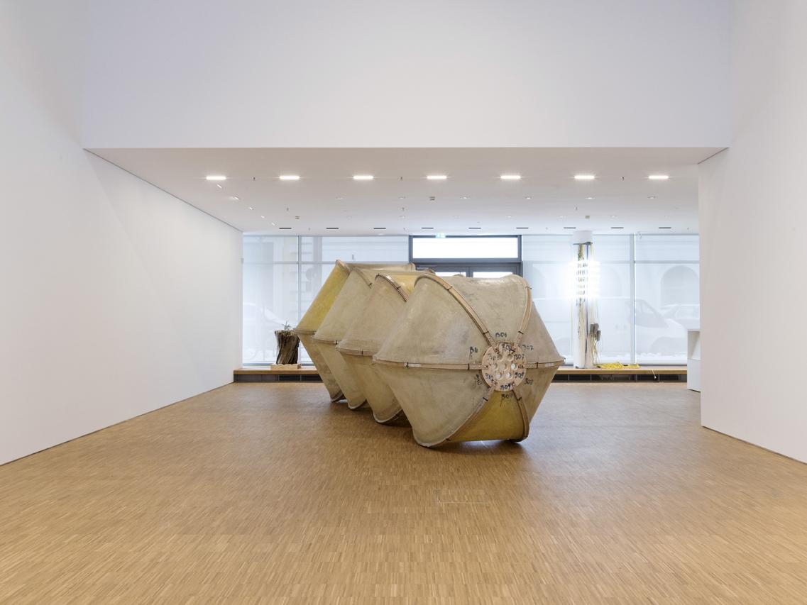 Ausstellungsansicht 'Samen die in den Morgen drängen', Foto: Gerald von Foris