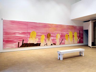 Ausstellungsansicht 'Heike Kati Barath. Sei Bereit', Foto: Gerald von Foris